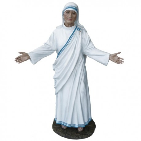 MOTHER THERESA WITH OPEN ARMS