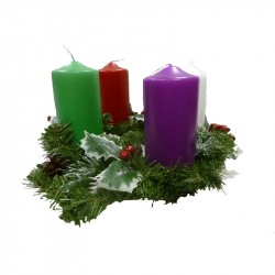 ADVENT CANDLESTICK 4 COLOURS