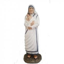 HOLY MOTHER TERESA OF CALCUTTA WITH BABY