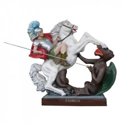 SAINT GEORGE WITH HORSE