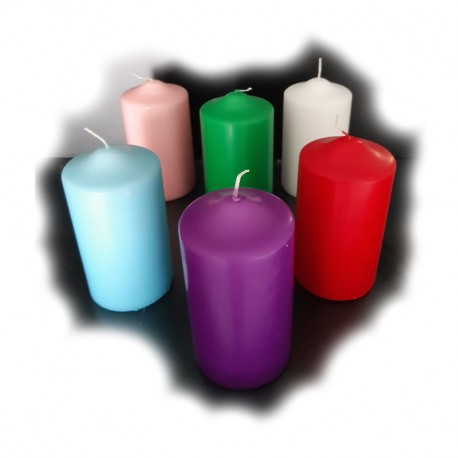 COLOURED CANDLE