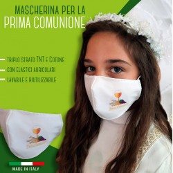 FIRST COMMUNION FACE MASK