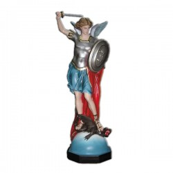 SAINT MICHAEL THE ARCHANGEL WITH SWORD AND SHIELD
