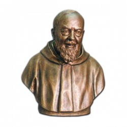 SAINT PIO (HALF CHEST)