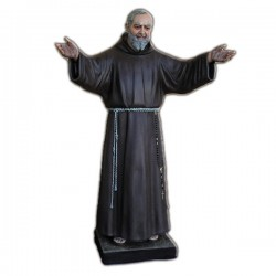 SAINT PIO WITH OPEN ARMS