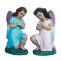 KNELT ADORING ANGELS