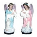 KNELT ADORING ANGELS (CANDLEHOLDERS)