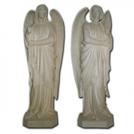 STANDING ANGELS (CANDLEHOLDERS)