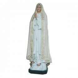 OUR LADY OF FATIMA, RICH DECORATION