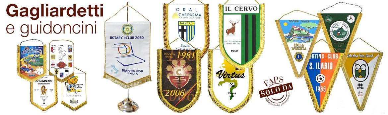 Ogni associazione religiosa viene contrassegnata da uno stemma che possa rappresentarla in tutte le sue caratteristiche.